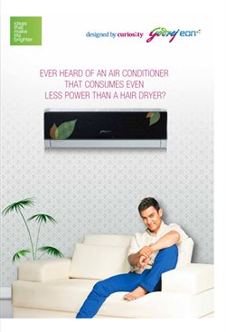 Air conditioner offers in the Godrej catalogue in Delhi