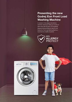Washing machine offers in the Godrej catalogue in Delhi