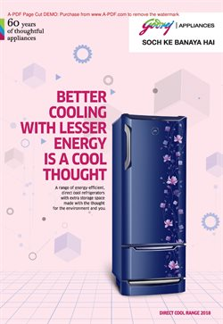 Mobiles & Electronics offers in the Godrej catalogue in Malegaon