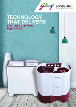 Offers from Godrej in the Chennai leaflet