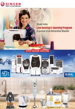 Home & Kitchen offers in the Singer catalogue ( 2 days left)