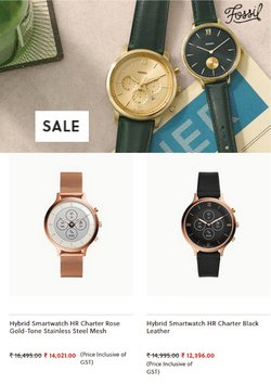 Jewellery offers in the Fossil catalogue ( 4 days left)