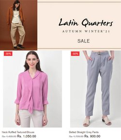 Latin Quarters offers in the Latin Quarters catalogue ( Expires tomorrow)