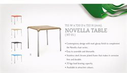 Table offers in the Nilkamal catalogue in Delhi