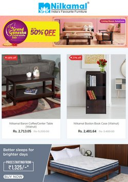 Home & Kitchen offers in the Nilkamal catalogue ( Expires today)