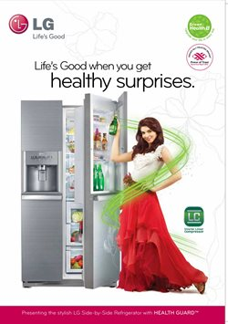 Refrigerator offers in the LG catalogue in Nashik