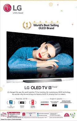 Offers from LG in the Chennai leaflet