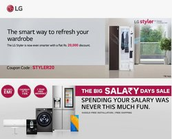 Mobiles & Electronics offers in the LG catalogue ( 24 days left)