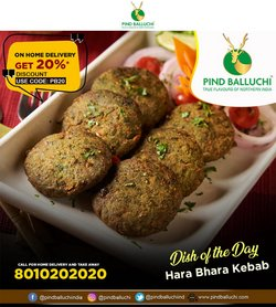 Restaurants offers in the Pind Balluchi catalogue ( More than a month)