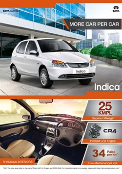 Offers from Tata Motors in the Cochin leaflet
