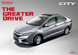 Cars, motorcycles & spares offers in the Honda catalogue in Bhilai