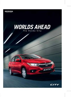 Offers from Honda in the Hyderabad leaflet