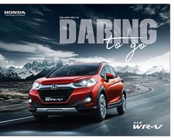 Cars, motorcycles & spares offers in the Honda catalogue in Delhi ( More than a month )