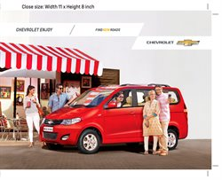 Offers from Chevrolet in the Delhi leaflet