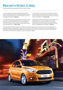 Car offers in the Ford catalogue in Nashik