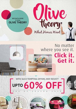 Home & Kitchen offers in the Olive Theory catalogue ( Expires tomorrow)