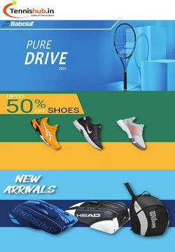 Sports offers in the Tennis Hub catalogue in Delhi ( 2 days left )