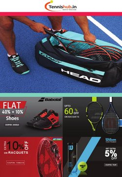 Sports offers in the Tennis Hub catalogue ( Expires tomorrow)