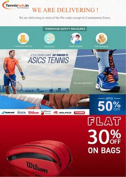 Sports offers in the Tennis Hub catalogue ( 9 days left)