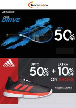 Sports offers in the Tennis Hub catalogue ( 3 days left)