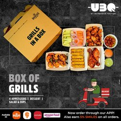 Restaurants offers in the Barbeque Nation catalogue ( 26 days left)