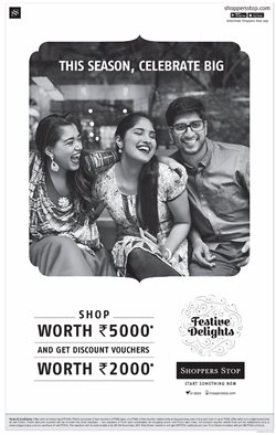 Offers from Shoppers Stop in the Delhi leaflet