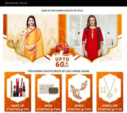 Offers from Shoppers Stop in the Mumbai leaflet