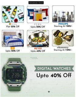 Clothes, shoes & accessories offers in the Shoppers Stop catalogue ( 5 days left)