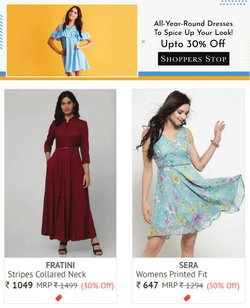 Shoppers Stop offers in the Shoppers Stop catalogue ( 2 days left)