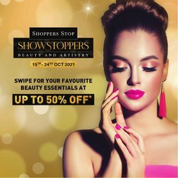 Shoppers Stop offers in the Shoppers Stop catalogue ( Expires tomorrow)