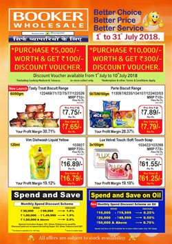 Soap offers in the Booker Wholesale catalogue in Delhi