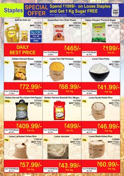Rice offers in the Booker Wholesale catalogue in Surat