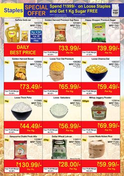Rice offers in the Booker Wholesale catalogue in Delhi