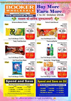 Sales offers in the Booker Wholesale catalogue in Delhi