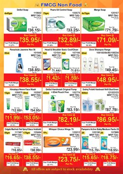 Face wash offers in the Booker Wholesale catalogue in Surat