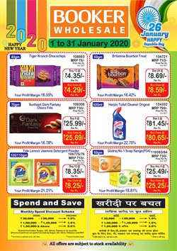 Offers from Booker Wholesale in the Thane leaflet