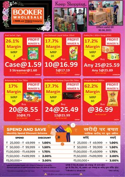 Supermarkets offers in the Booker Wholesale catalogue ( 8 days left)