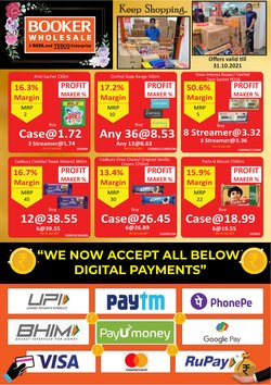 Booker Wholesale offers in the Booker Wholesale catalogue ( 8 days left)