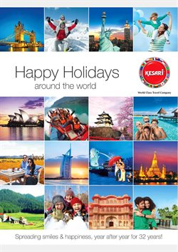 Travel offers in the Kesari tours catalogue in Loni