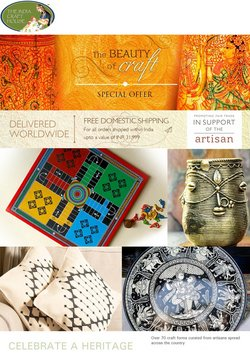 Home & Kitchen offers in the The India Craft House catalogue ( Expires tomorrow)