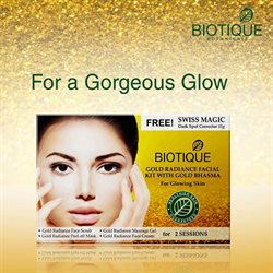 Massagers offers in the Biotique catalogue in Delhi