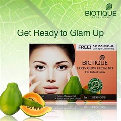 Eyeshadow offers in the Biotique catalogue in Bangalore