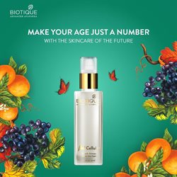 Perfume & Beauty offers in the Biotique catalogue in Mumbai ( Expires tomorrow )
