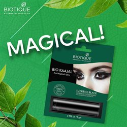 Perfume & Beauty offers in the Biotique catalogue in Mumbai ( 1 day ago )
