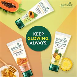 Offers of Face wash in Biotique
