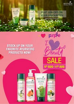 Perfume & Beauty offers in the Biotique catalogue ( Published today)