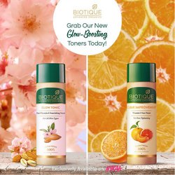 Perfume & Beauty offers in the Biotique catalogue ( 1 day ago)