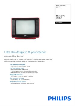 TV offers in the Philips catalogue in Ahmedabad