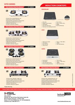 Kitchen Appliances offers in the Hindware catalogue in Delhi