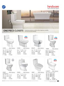 Wardrobe offers in the Hindware catalogue in Delhi